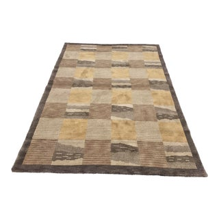 """New Hand Knotted Persian Nenbaz Area Rug - 4'11""""x7'4"""""""