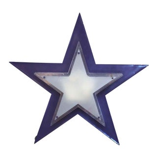 Purple Back Star Light