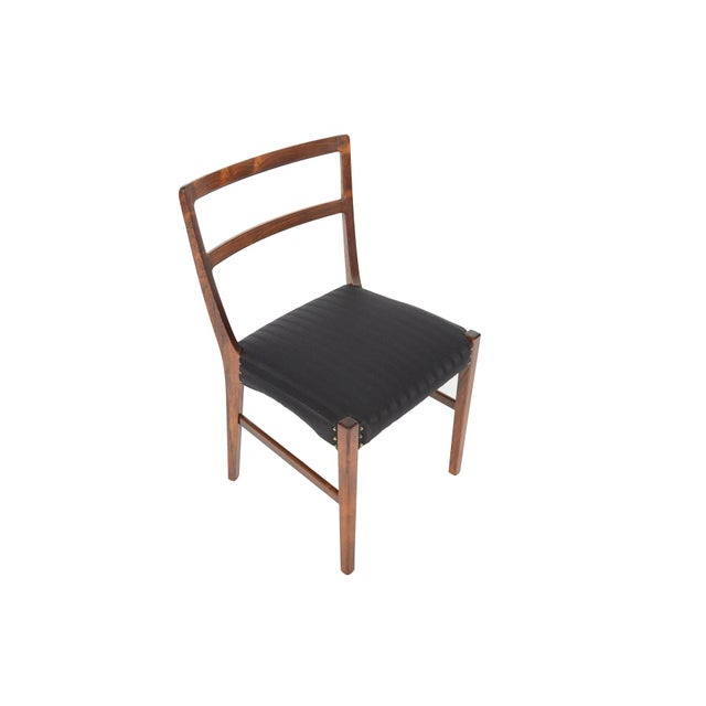 Harry Østergaar Rosewood Dining Chairs - Set of 6 - Image 4 of 10