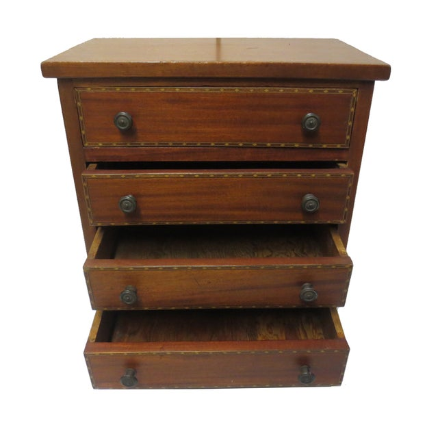 Image of Miniature Scale Chest of Drawers