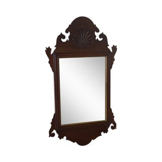 A. Cooper Bucks County Chippendale Style Mahogany Mirror