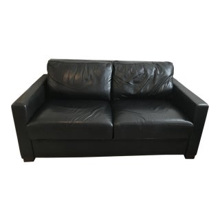 Design Within Reach Leather Sleeper Sofa