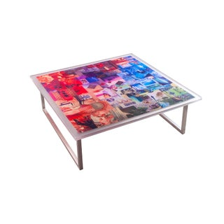 Vintage 'Kaleidoscope' Coffee Table