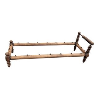 Early 19th Century Small Rope Bed Frame, Repurpose as Coffee Table or Bench