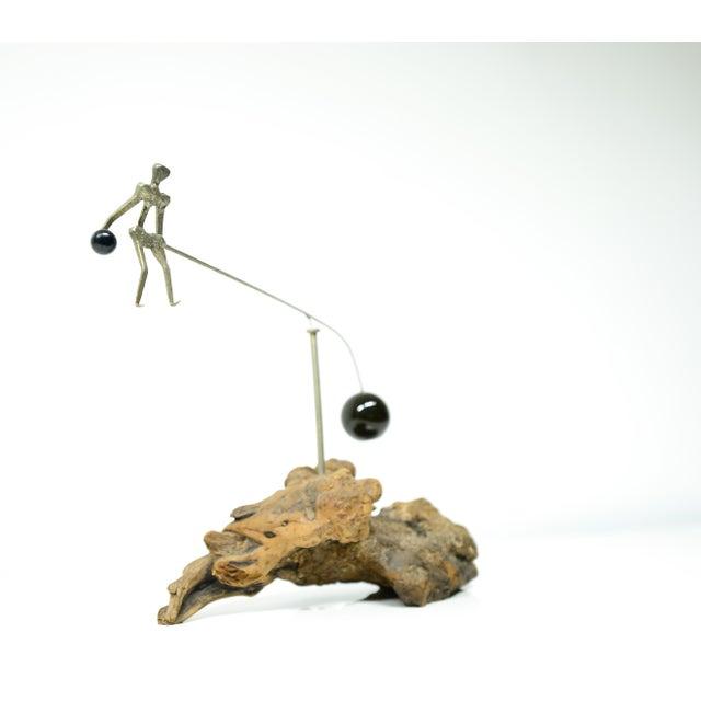 Swing Kid Sculpture - Image 4 of 6