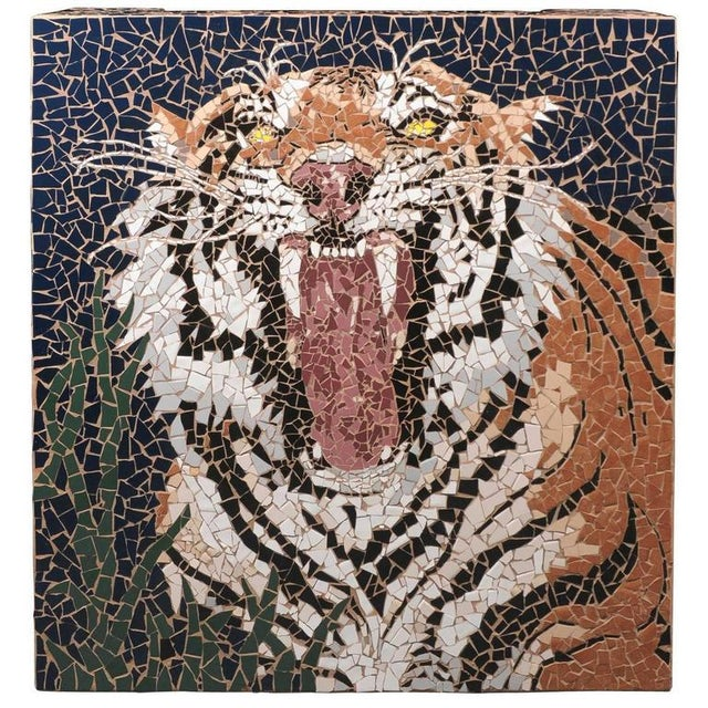 Mosaic Tiger Coffee Table - Image 2 of 7