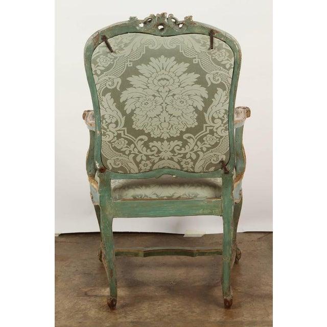 Fine Venetian Rococo Arm Chair - Image 9 of 9