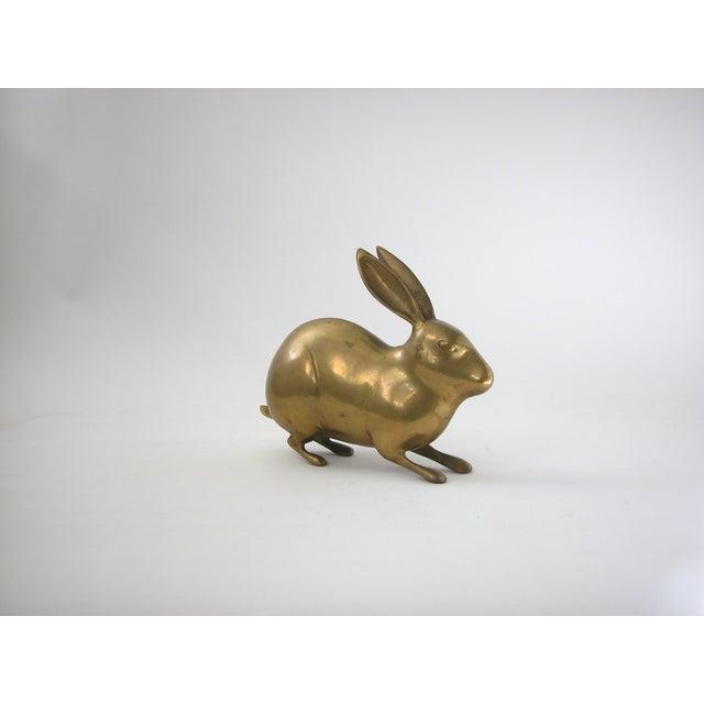 Image of Large Vintage Brass Rabbit