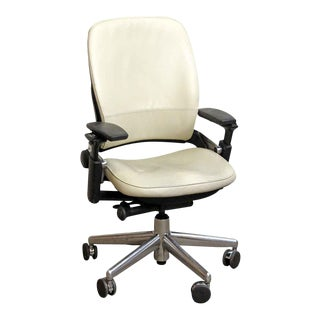 Black & White Office Chair by Steelcase