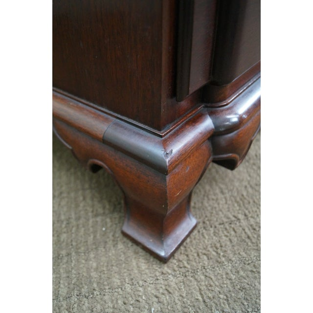 Vintage Mahogany Chippendale Style Writing Desk - Image 10 of 10