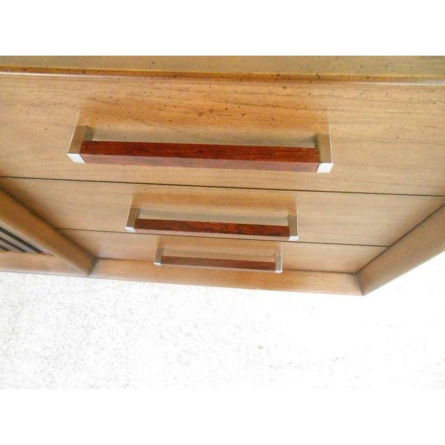 Mid-Century Modern American Walnut Dresser - Image 6 of 8