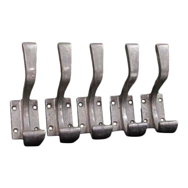 French Deco Aluminum Double Hook - Image 5 of 7