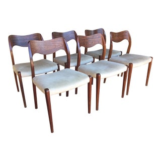 Moller 71 Rosewood Chairs - Set of 6