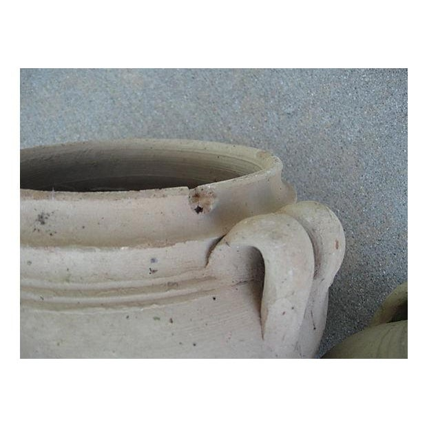 Image of Primitive Clay Vessels - A Pair