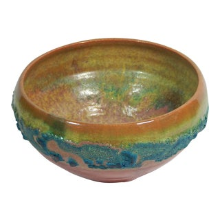 Hand Thrown Earthenware Bowl by Andrew Wilder #29