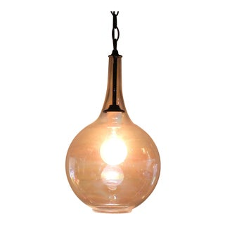 Vintage Iridescent Pendant Light
