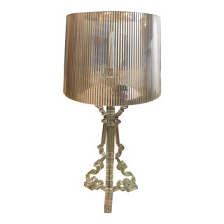 DWR Kartell Bourgie Clear Lamp