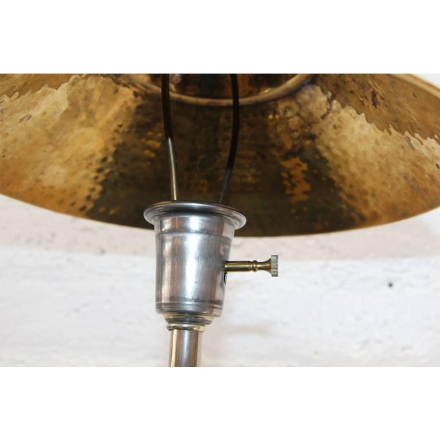 Image of Silver Plated Flute Lame with Lucite Base