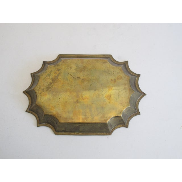 Brass Scalloped Catchall - Image 4 of 4