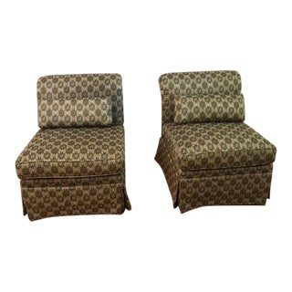 Custom Armless Chairs - A Pair