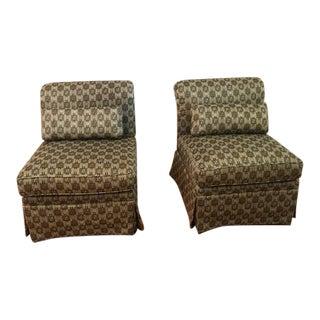 Custom Armless Chairs - A Pair