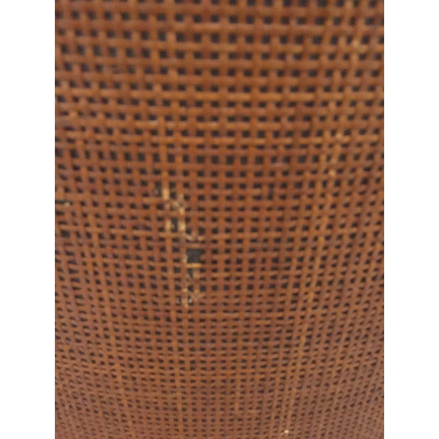 Baughman Style Mid-Century Caned Lounge Chairs- A Pair - Image 7 of 9