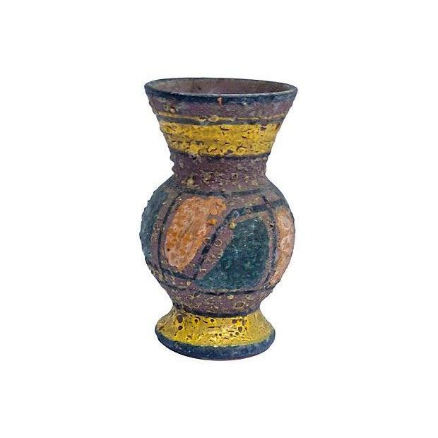 Vintage Mid-Century Italian Ceramic Vase - Image 1 of 2