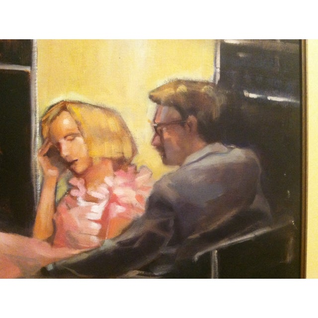 """Image of """"Russian Subway"""" Oil Painting by Scott Yeskel"""