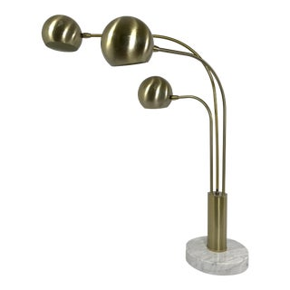 Vintage Italian Pivoting Arm Table Lamp