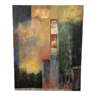 """Miki Yoshimoto """"Awakening"""" Painting"""