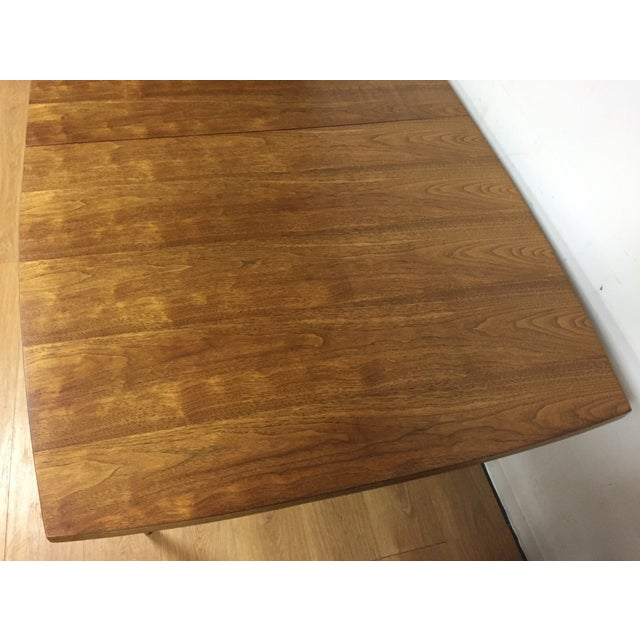 Image of Broyhill Walnut Dining Table