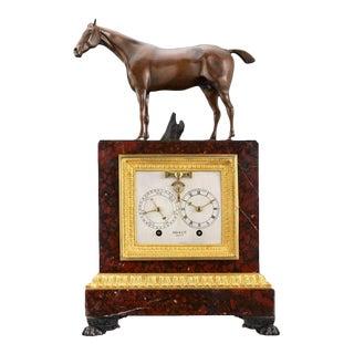 Napoleon III Sculptural Mantel Clock