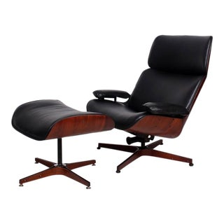 Mid Century Modern George Mulhauser Mr Chair for Plycraft Eames Era