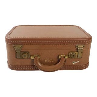 Skyway Vintage Brown Suitcase