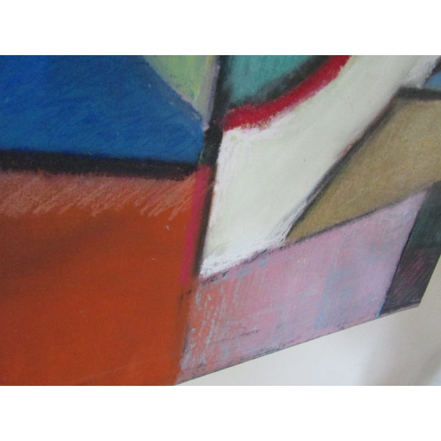 Original Signed Large Colorful Abstract Painting - Image 6 of 8