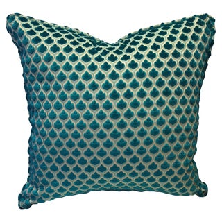 Shine by S.H.O. Carib Clover Throw Pillow