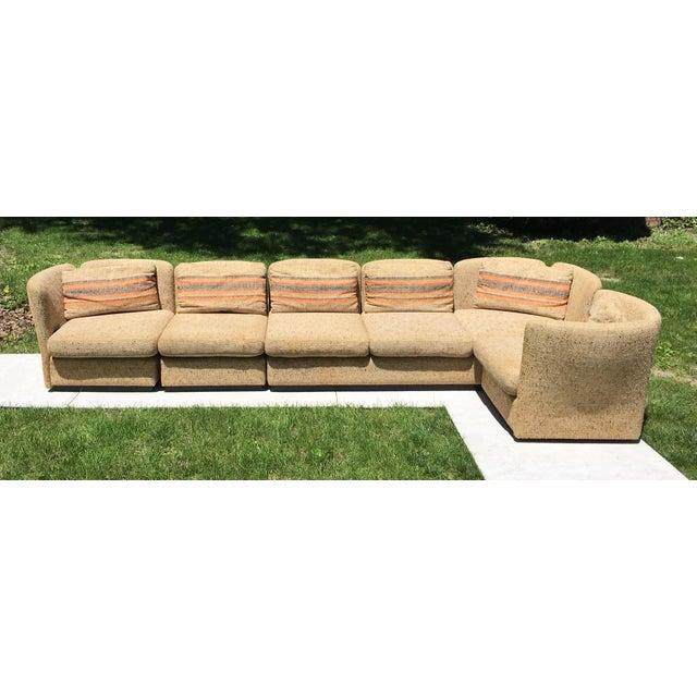 Mid Century Scandinavian Modular Sofa Sectional - Image 5 of 10