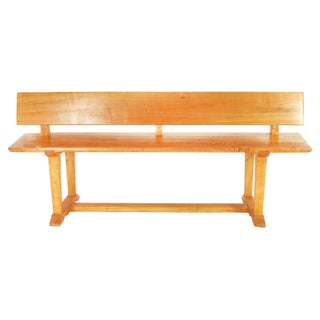 Artisan Made Maple Dovetail Bench