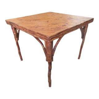 Islandy Bamboo Game Table