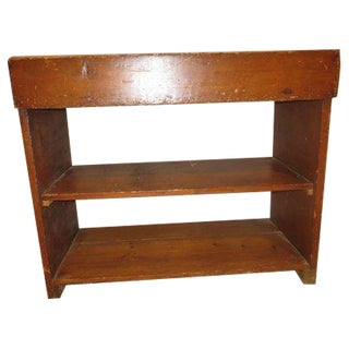 Country Pine Potting Table