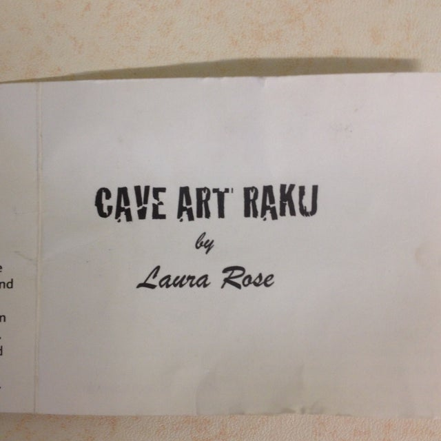 Leaping Deer, Raku Vase by Laura Rose - Image 7 of 8