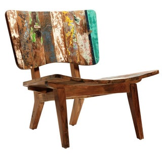 Indonesian Reclaimed Boat Wood Chair