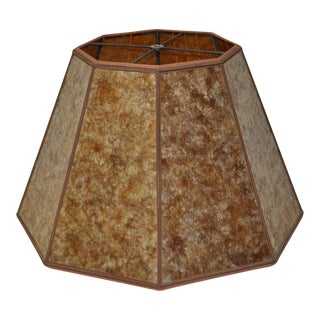 Mission Arts & Crafts Mica Lamp Shade