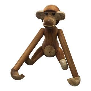 Kay Bojesen Teak Monkey