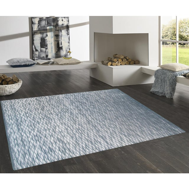 Pasargad Modern Silk & Wool Area Rug - 9' X 12' - Image 4 of 4