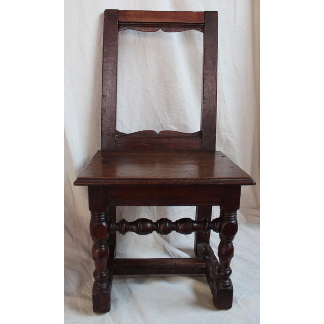 Antique Oak Nun's Chairs - Set of 3 - Image 9 of 10