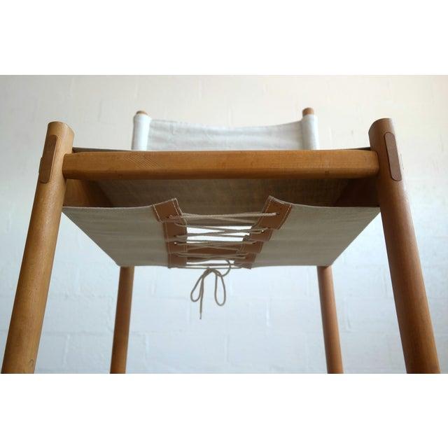 Danish Modern White Dining Chairs - Set of 6 - Image 7 of 10