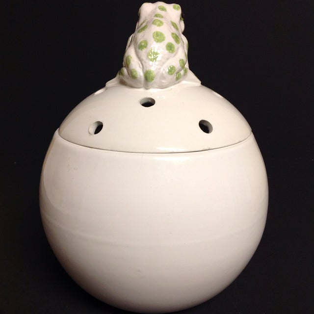 Image of Italian Ball Shaped White Scent Diffuser