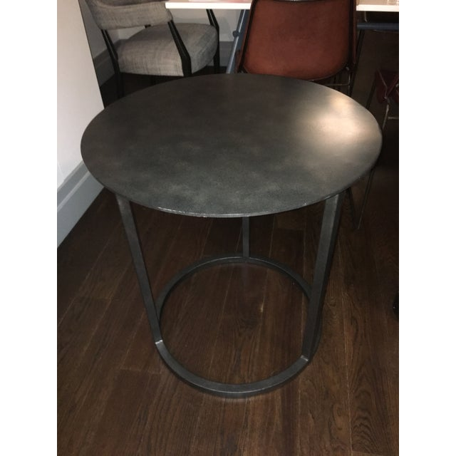 Restoration Hardware Mercer Round Side Table Chairish