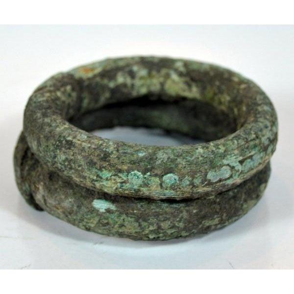 Antique Bronze Ban Chiang Bronze Bracelet - Image 3 of 8